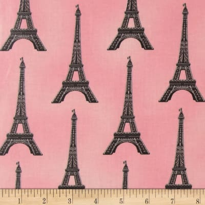 Paris Panache Slicker Eiffel Tower Blush