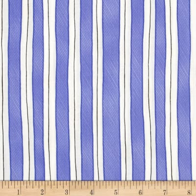 Somerset Happy Trails Stripes Bluebell