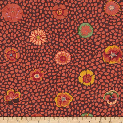 Kaffe Fasset Collective Guinea Flower Brown