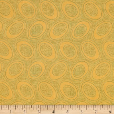 Kaffe Fassett Collective Aboriginal Dot Ochre