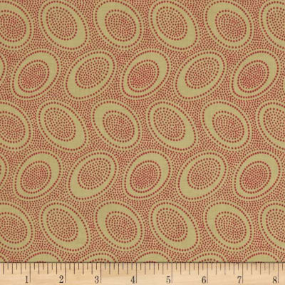 Kaffe Fassett Collective Aboriginal Dot Olive
