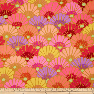 Kaffe Fassett Collective Thousand Flowers Pink