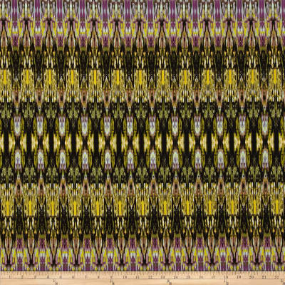 Fabrique-istan Ikat Olive/Purple