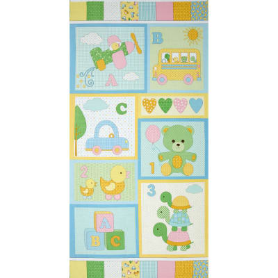 "Bundle of Joy 24"" Panel Pastel"
