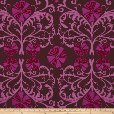 Valori Wells Home Décor Tribal Floral Merlot
