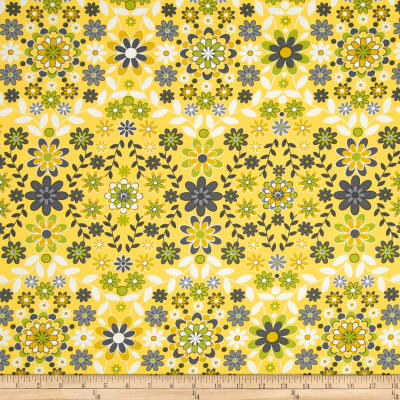 Jenean Morrison Silent Cinema Sateen Sunrise Yellow