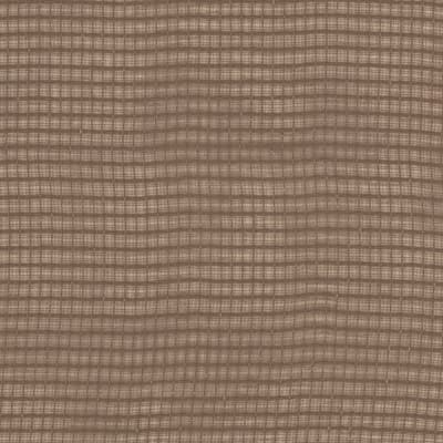 Eroica Check It Open Weave Sheer Mocha