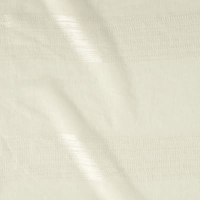 Eroica Homely Embroidered Stripe Sheers Natural