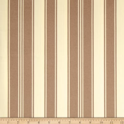 Tanya Whelan Petal Home Decor Sateen French Stripe Taupe
