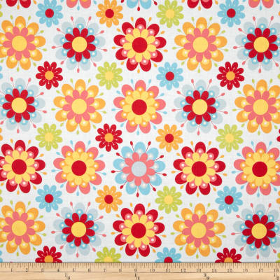Riley Blake Just Dreamy 2 Large Floral Blue