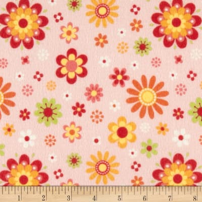 Riley Blake Just Dreamy 2 Flannel Floral Pink