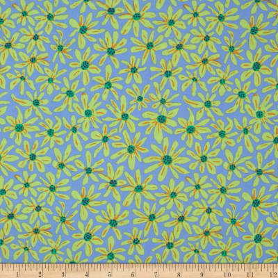 Kaffe Fassett Collective Daisy Chain Blue