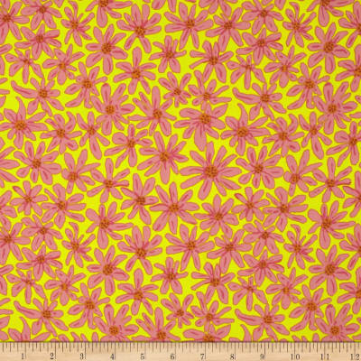 Kaffe Fassett Collective Daisy Chain Yellow