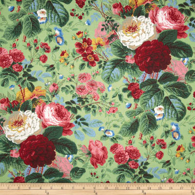 Kaffe Fassett Collective Grandi Floral Natural