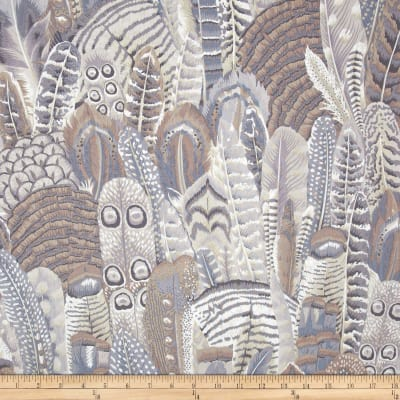 Kaffe Fassett Collective Feathers Grey