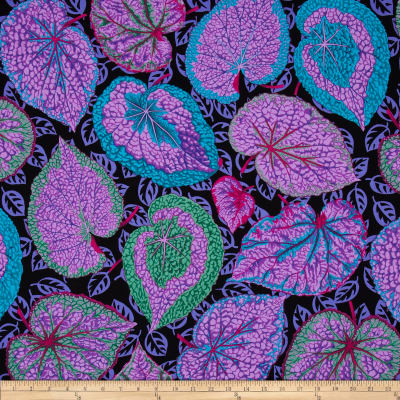 Kaffe Fassett Collective Big Leaf Purple