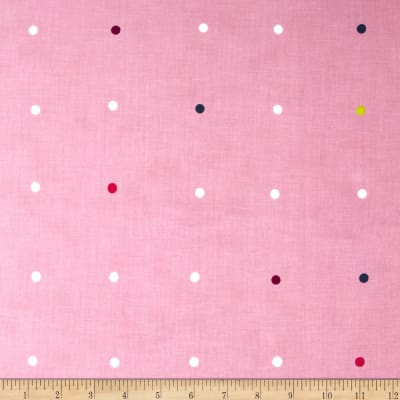 Color Full Small Dots Pink