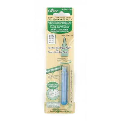Clover Chaco Liner Refill Blue