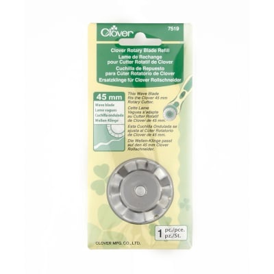 Clover Rotary Wave Blade 45mm