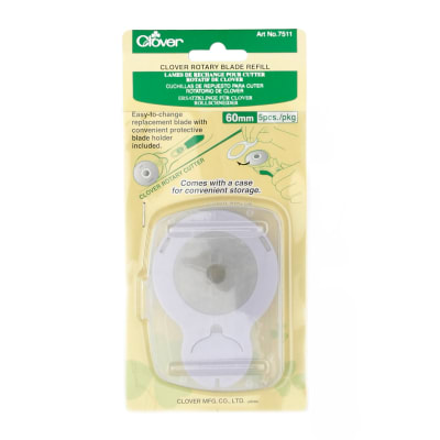 Clover Rotary Blade Refill 60mm - 5 Pack