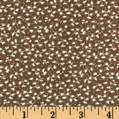Dots and More Mini Ferns Brown