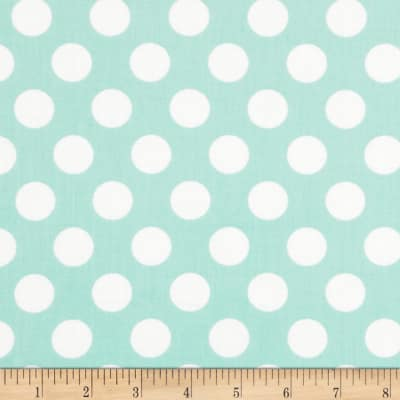 Singin' the Blues Jumbo Dots Mint/White