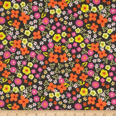 Valencia Small Floral Gray