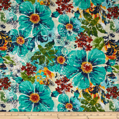 Saaremaa Large Packed Floral Multi