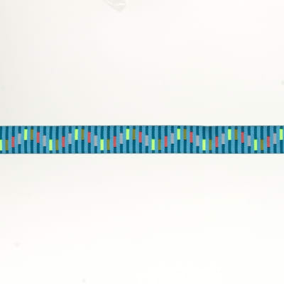 "5/8""Anna Maria Horner Turquoise Cracking Codes"