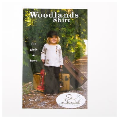 Sew Liberated Girls Woodland Shirt Pattern