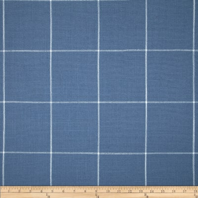 Golding Captiva Woven Large Check Cornflower