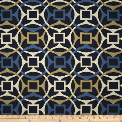 Golding by P Kaufmann Astro Upholstery Jacquard Marine