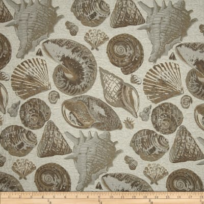 Golding Sanibel Nautical Upholstery Jacquard Driftwood