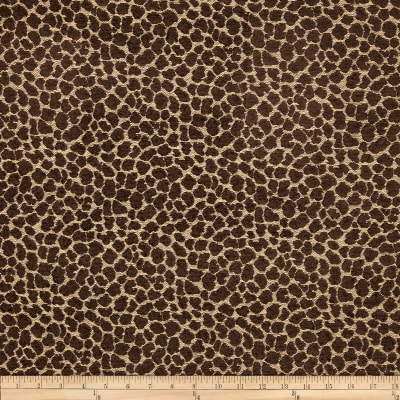 Golding Spots Chenille Jacquard Chocolate