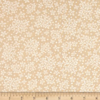 Whisper Prints Floral Taupe