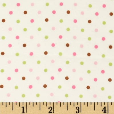 Cozy Cotton Flannel Mini Dots Garden