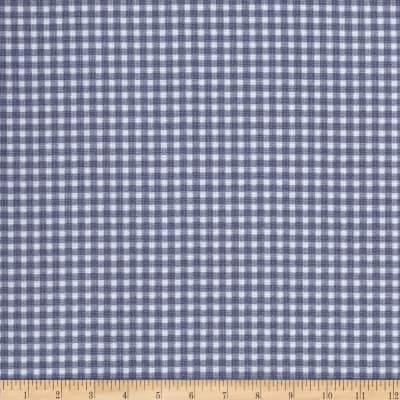 Michael Miller Tiny Gingham Grey