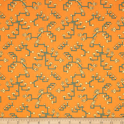 Egypt Papyrus Light Orange