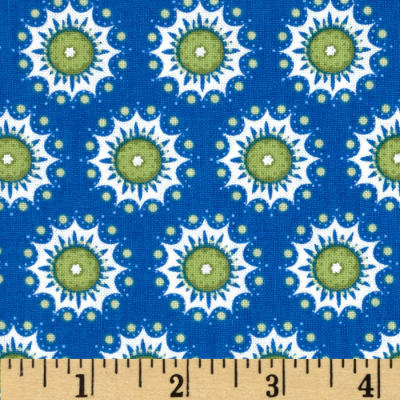 Urban Chic Small Medallions Blue