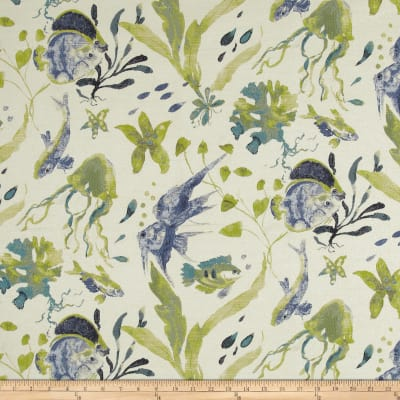 Swavelle/Mill Creek Submarino Jacquard Ocean