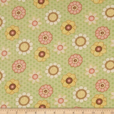 Let it Bee Floral Green