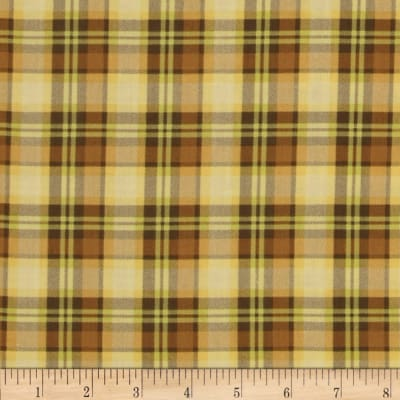 Let it Bee Plaid Yellow