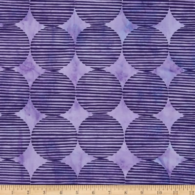 Island Batik Large Diamond Purple
