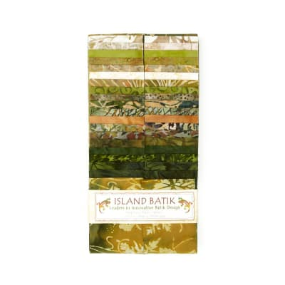 "Island Batik 2.5"" Strip Pack Seven Up"