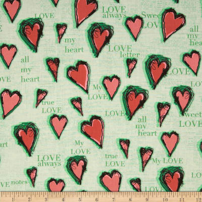 All My Heart Hearts Green