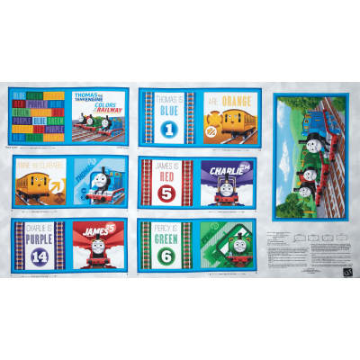 Thomas & Friends The Color Express Color of the Rail Book Panel