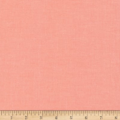Cloud 9 Organic Cirrus Solid Broadcloth Coral