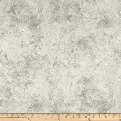 Stonehenge Hidden Valley Flannel Marbled Solid White/Gray
