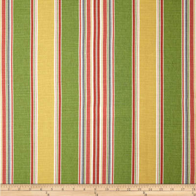 Duralee Stripe Greenage Multi