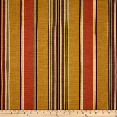 Duralee Basset Stripe Antique Gold